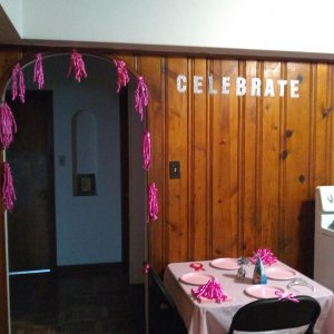 I decorated it's almost my daughter's Birthday